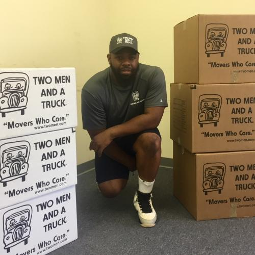 "Meet Sylvanus!  His tireless efforts at customer service led to the July Mover of the Month award in Raleigh.  He strives for a ""moving"" experience each and every time."