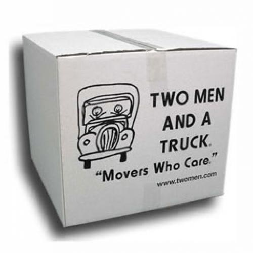 large two men and a truck box