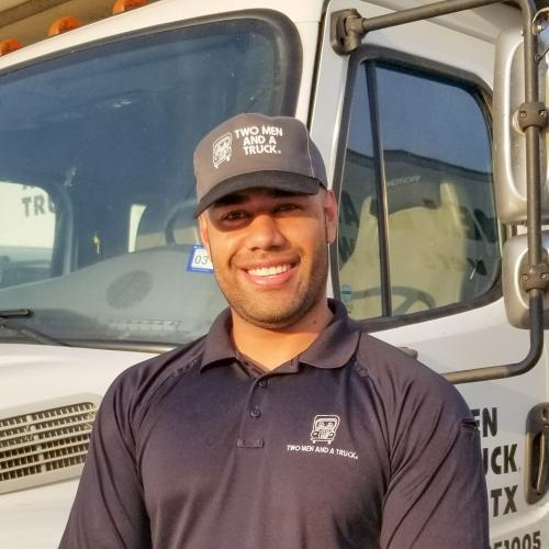 Sak, Location Manager for TWO MEN AND A TRUCK Fort Worth