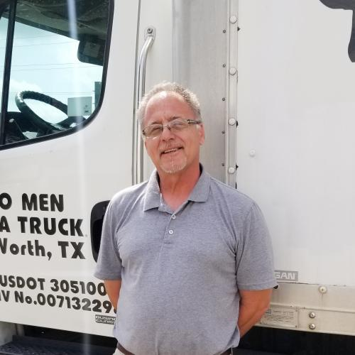 Otto, Location Manager, TWO MEN AND A TRUCK Fort Worth
