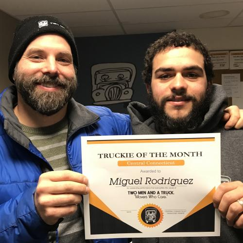 Miguel Rodriguez Mover Of The Month