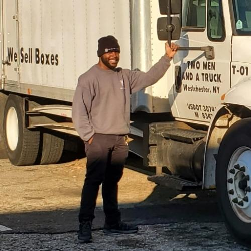 Patrick Brown, Mover of the Month for Two Men And A Truck