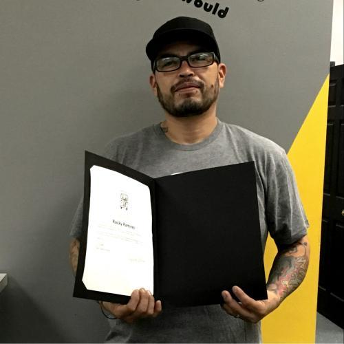 Rocky Ramirez - Employee of the Month