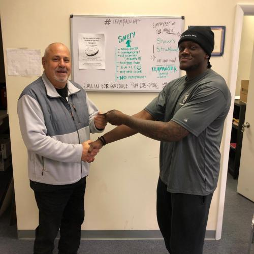 Our Raleigh moving family is thrilled to announce Shawn as Mover of the Month for February.  Great service with a smile is what truly makes Shawn one of Raleigh's best move professionals.