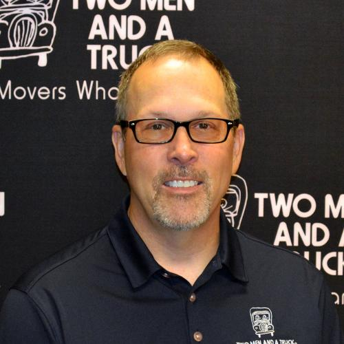 TWO MEN AND A TRUCK Moving Company franchisee Chris