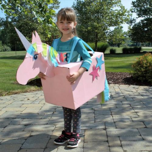 unicorn box costume