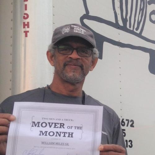 William Miles Two men and a truck mover of the month