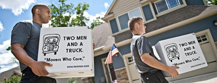 TWO MEN AND A TRUCK Long-distance movers