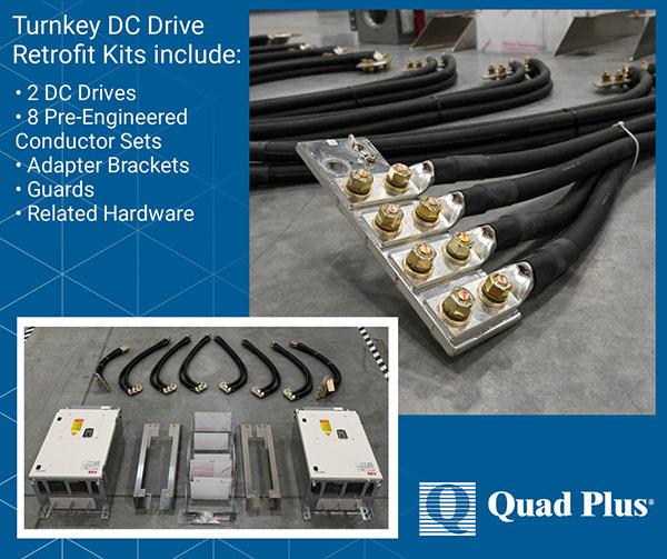 Retrofit Kit for Legacy Quad Plus Drive Systems