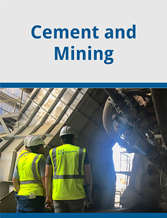 cement and mining brochure