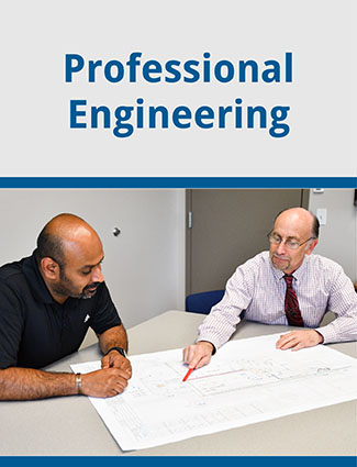 professional engineering company brochure
