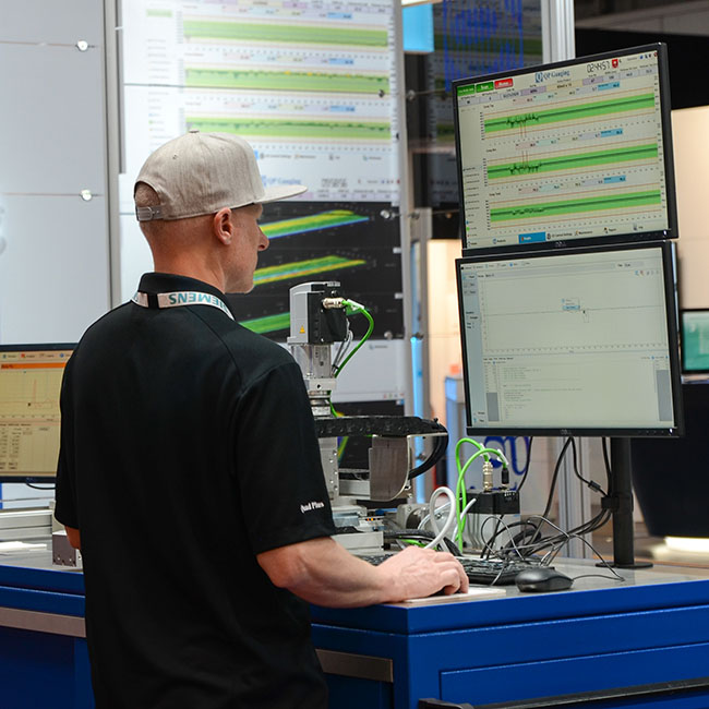 case study cold rolling mill needed an update to existing single-point measurement system