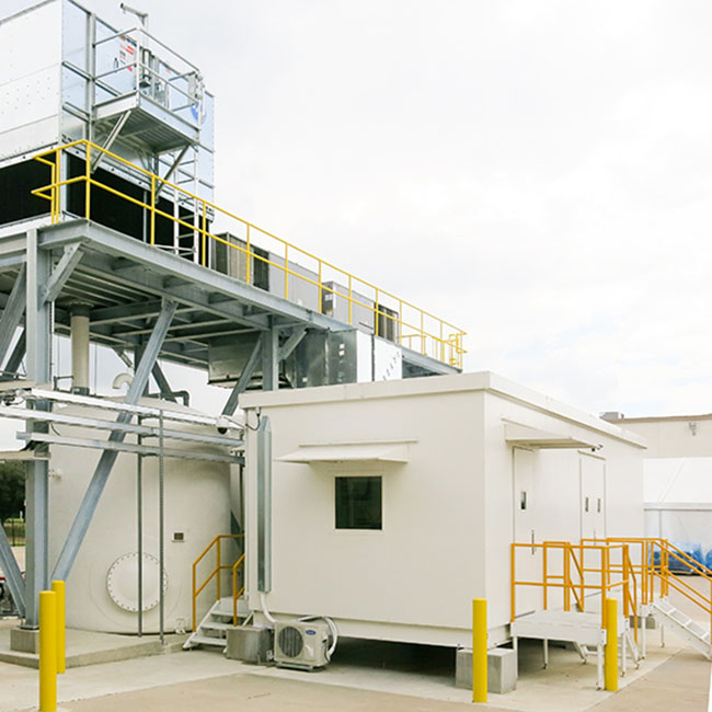 case study test stands for oil and gas equipment manufacturer needed a facility for testing large, high horsepower pumps used in well stimulation operations