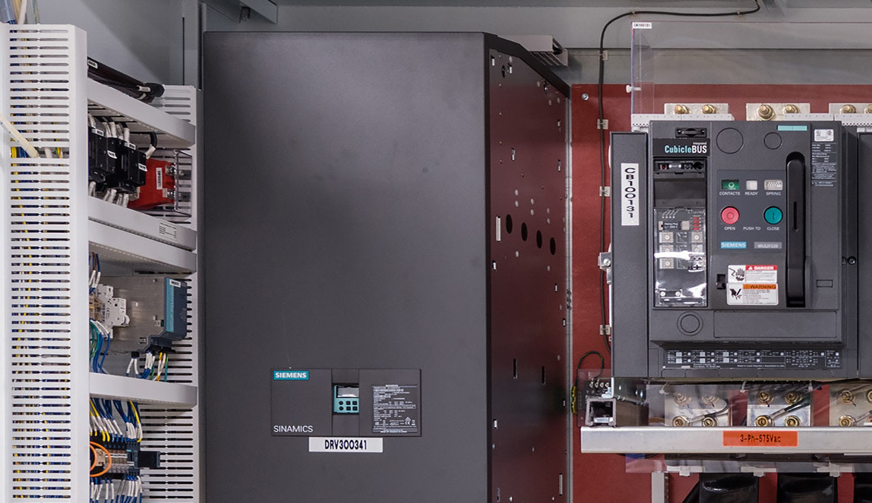 auto shredder control system cabinet