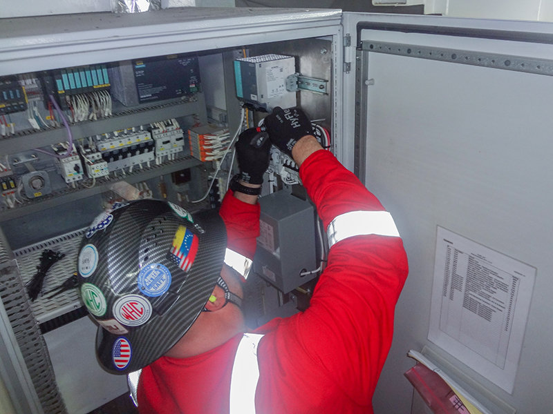 marine and maritime industry control systems support
