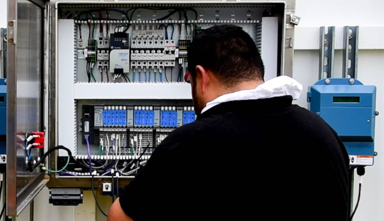 repair service on marine electrical control systems