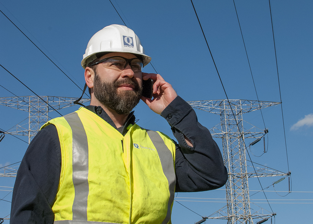 review local power company connection requirements and speak with power company