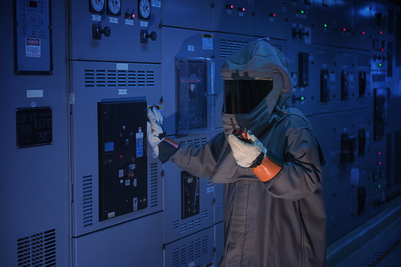 arc flash safety suit