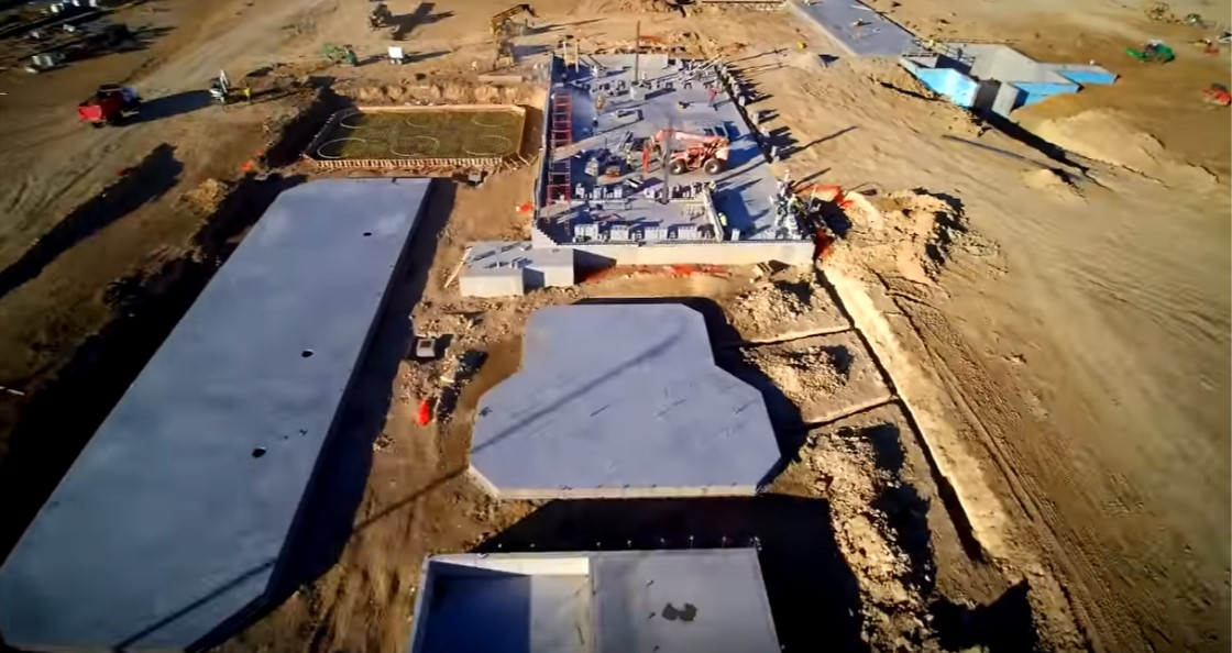 Step 2 - Foundations and Tank Pads