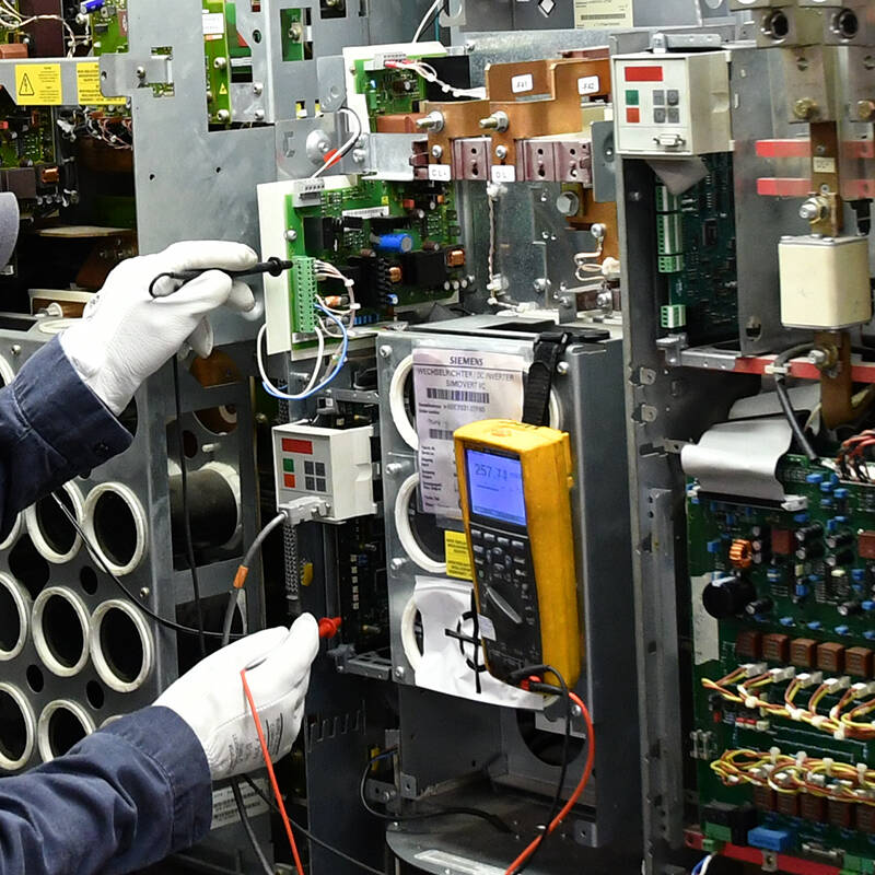 diagnose and repair problems with siemens drives and ABB controls