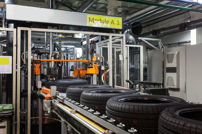 control systems engineering for tire production