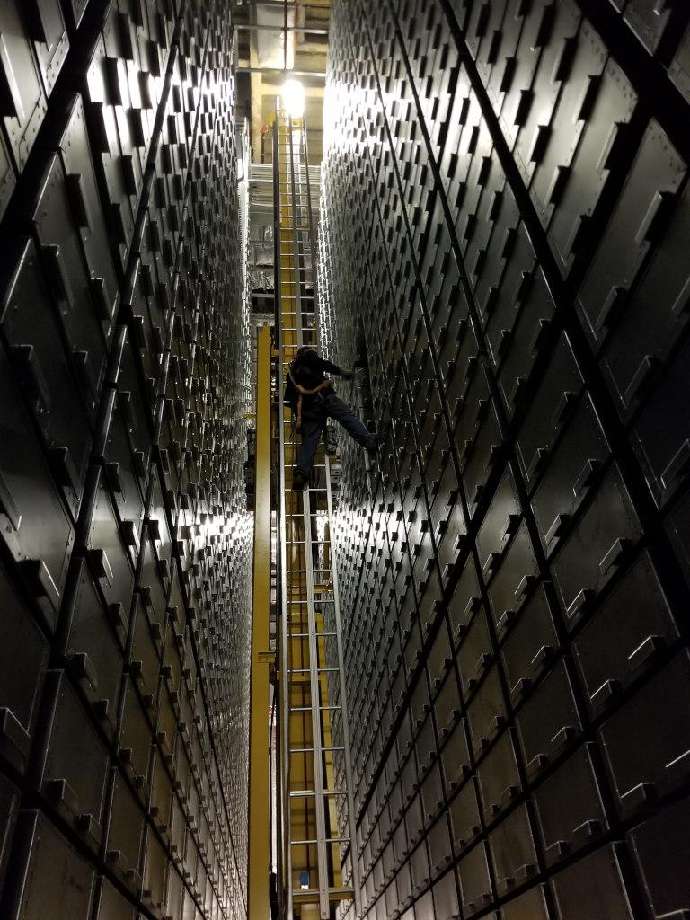 rare book storage work