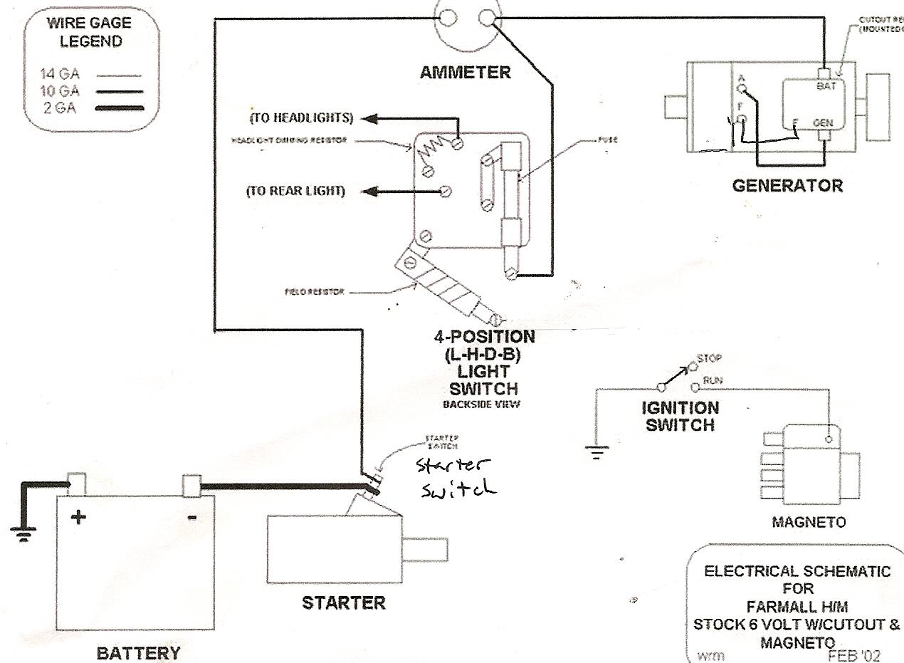 Farmall H Magneto Wiring Diagram