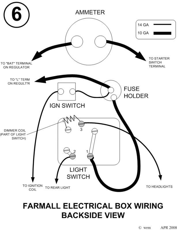 please help  farmall h 3 position elec switch - general ih