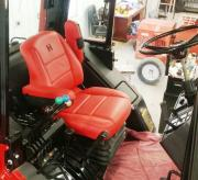 Ih 5488 Seat Updated To Magnum Styling General Ih Red Power