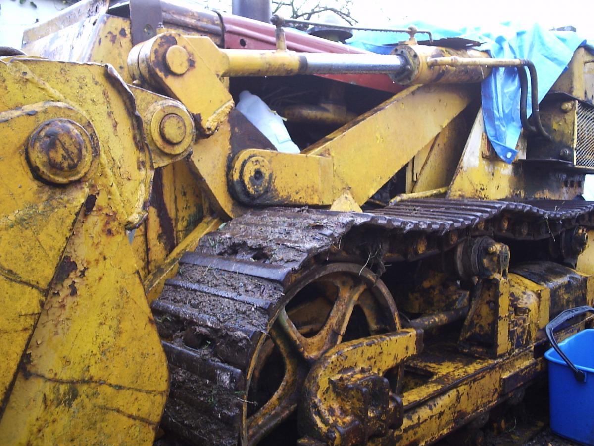 Case Backhoe Parts >> International Drott BTD6 - IH Construction Equipment - Red ...