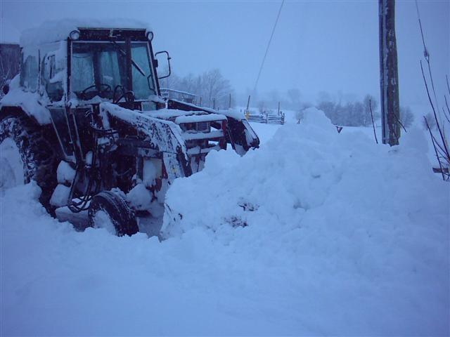 Best tire chain style for tractors in snow?? - General IH ...