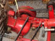 Hydraulic cylinder replacement for Gage Rod on IH 1300
