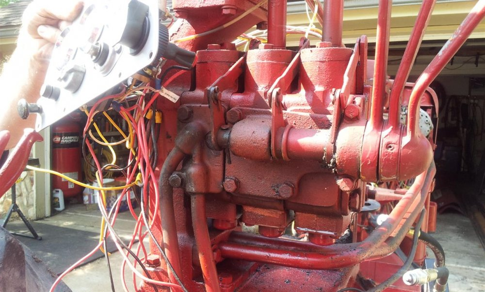 400 Farmall Hydraulics - General Ih