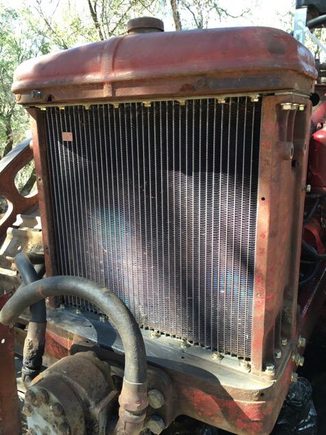 Found! - TD6 Radiator Core 45731 - IH Construction Equipment - Red