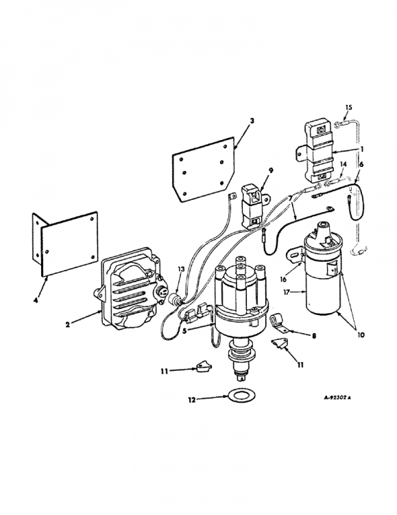 wiring diagram on f-544 hydro gas with magnetic pulse ignition - general ih