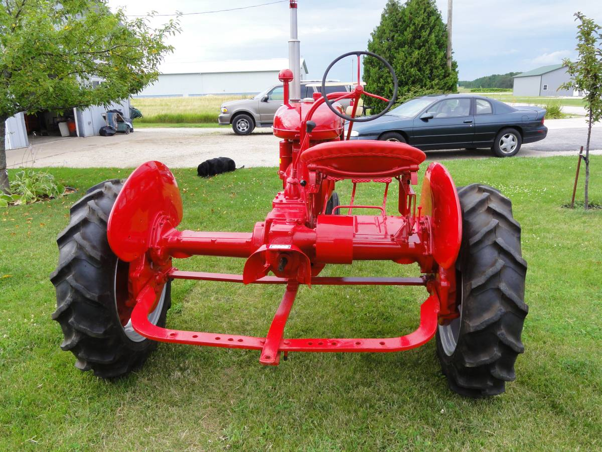 Farmall B buddy seat project - Coffee Shop - Red Power
