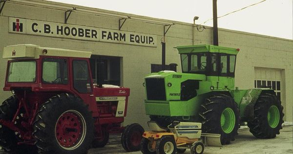 Pic of a IH dealership named C B  Hoober Farm Equipment