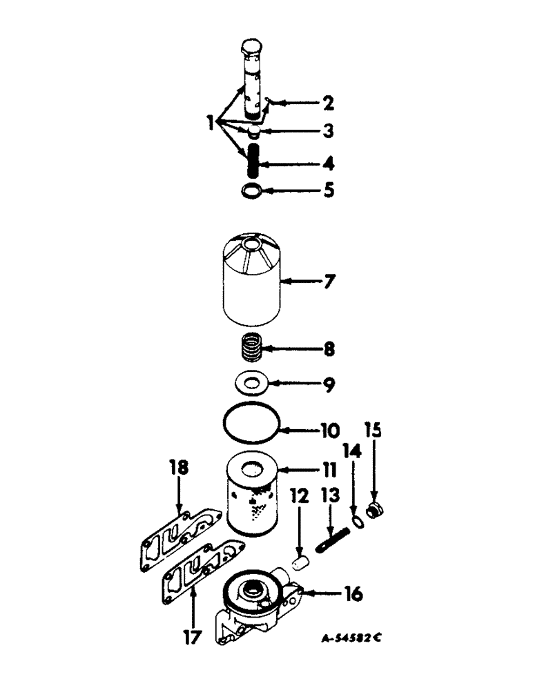 Farmall C Oil Pump Diagram