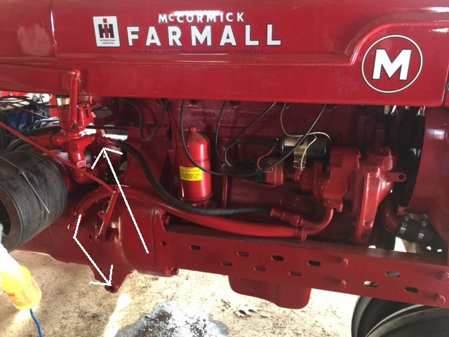 farmall m 3 point hydraulic hook up general ih red super a farmall hydraulic diagram farmall super a final drive diagram