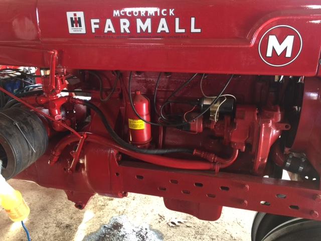 farmall m 3 point hydraulic hook up general ih red power Farmall M Loader Hydraulic Diagram