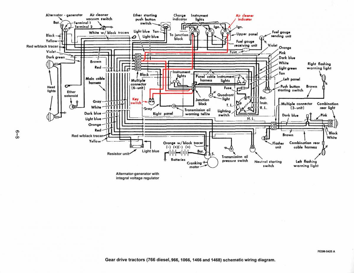 Ih 766 Diesel Wiring Schematics 100 Free Diagram 986 1066 Projects Builds Restorations Red Power Magazine Community Rh Redpowermagazine Com 666