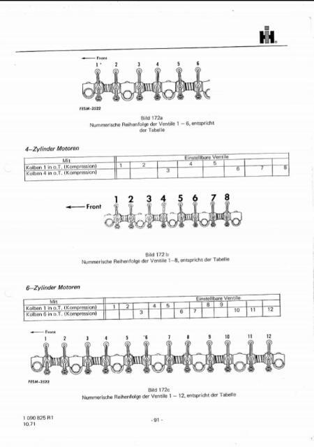 D358 valve lash - General IH - Red Power Magazine Community