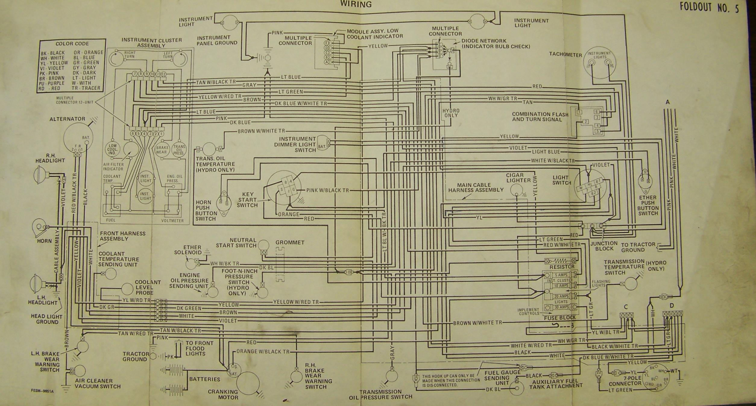 1486 Electrical - General IH - Red Power Magazine Community on white tractor power, nissan wiring diagram, hino wiring diagram, ford wiring diagram, white tractor steering, white tractor brochure, white tractor headlight switch, hesston wiring diagram, oliver wiring diagram, alfa romeo wiring diagram, western star wiring diagram, white tractor tires,