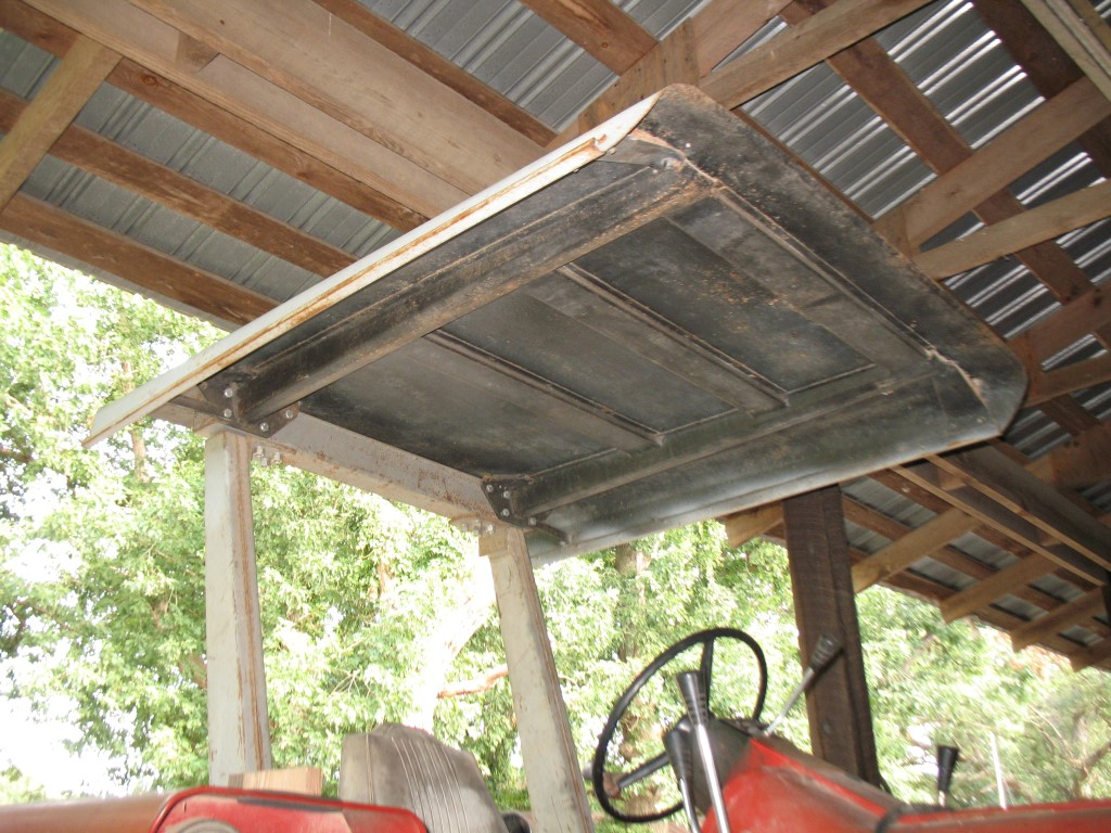 Tractor Canopy Coffee Shop Red Power Magazine Community
