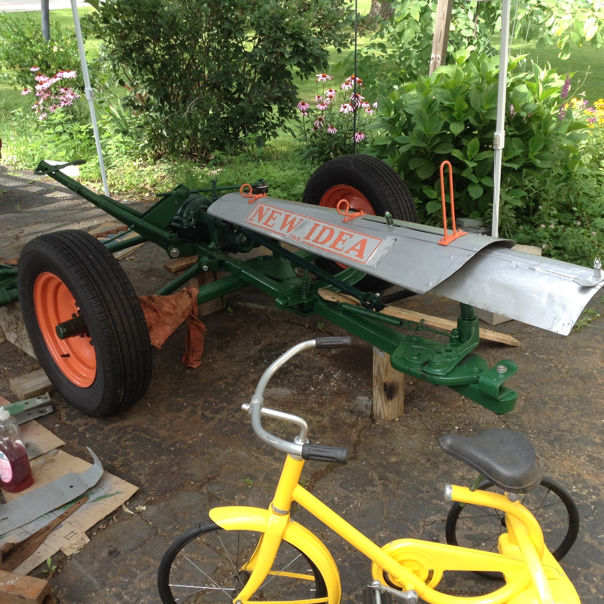 New Idea 30A Sickle Bar Mower - Projects, Builds, & Restorations
