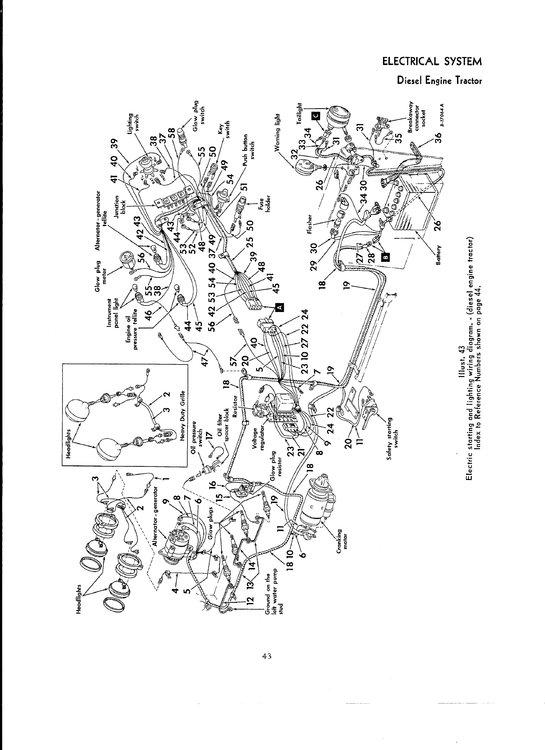 Ih 444 Diesel Wiring - General Ih