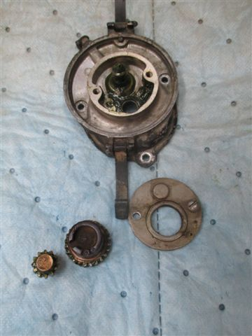 H4 mag,,,timing of rotor gears - IH Construction Equipment - Red