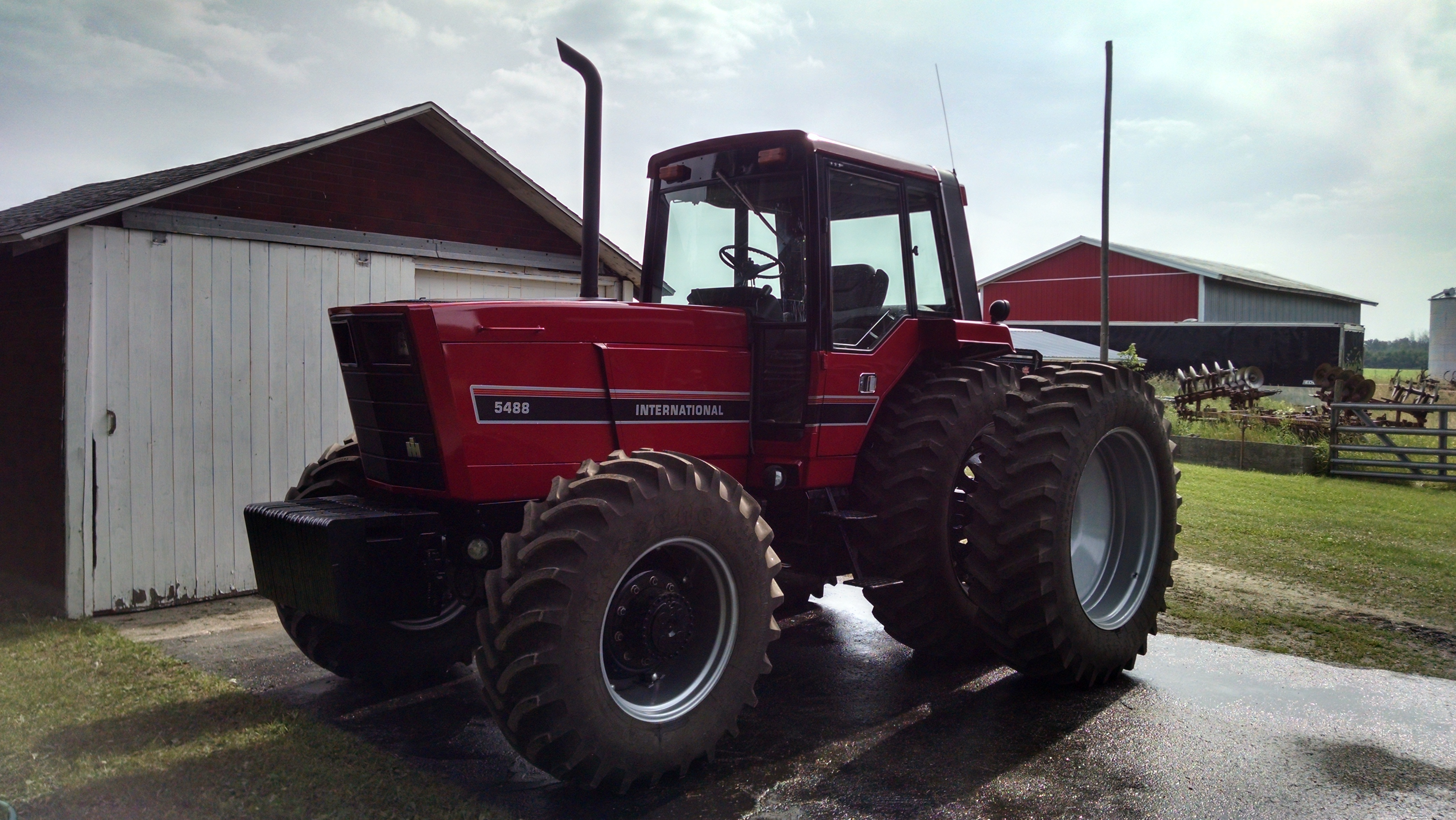 Tying The 5488 To The Ground General Ih Red Power Magazine Community