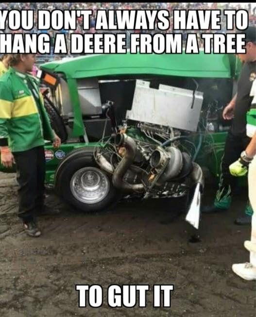 Garden Tractor Pulling Sticker : A john deere funny sticker coffee shop red power