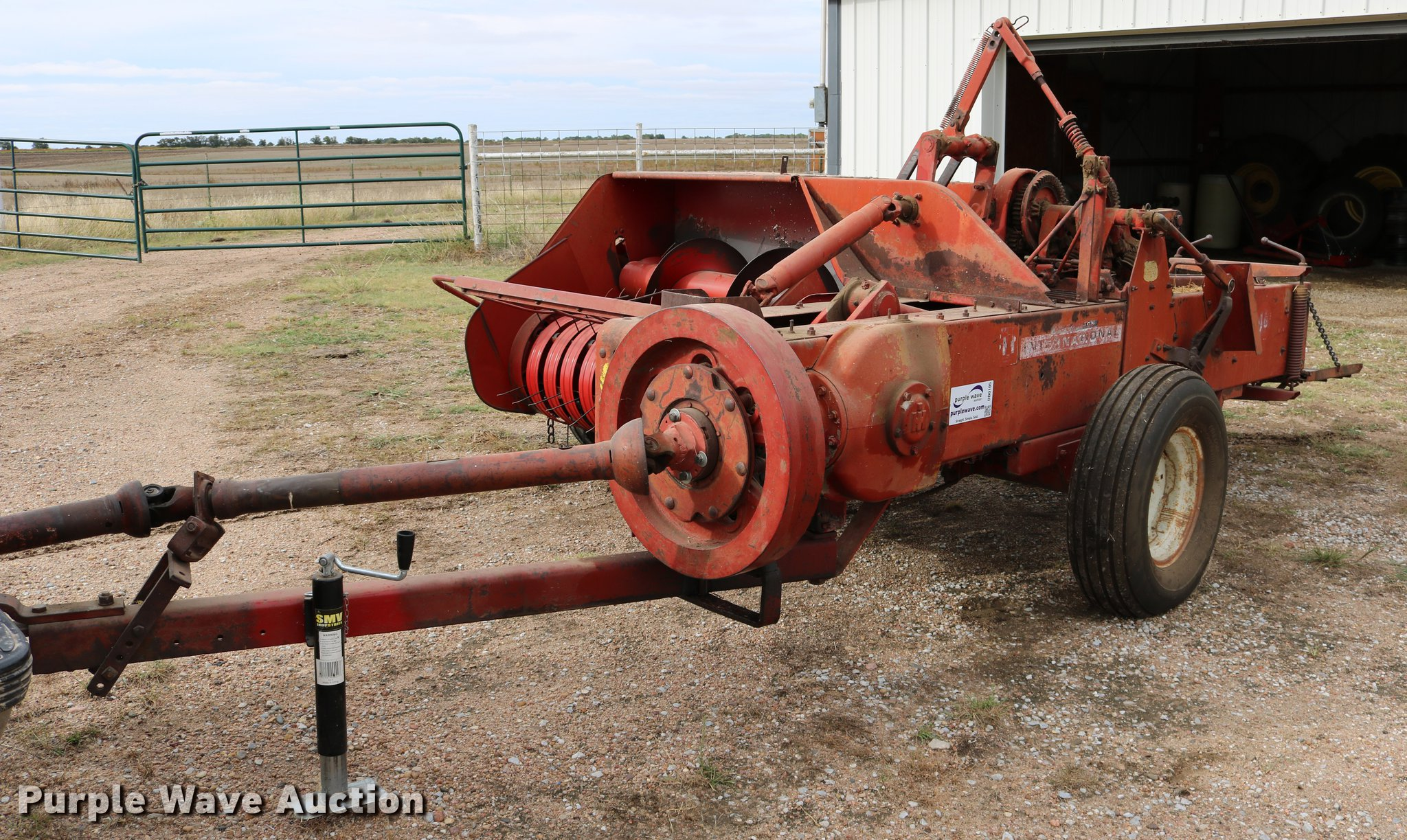Also is there a serial number registry to determine what year this baler  was built?